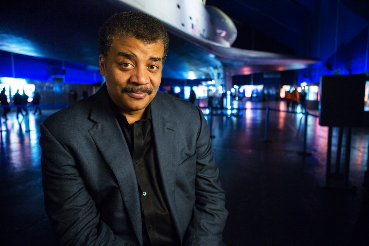 Big Thinker - Neil DeGrasse Tyson on 3/30/16 for NATIONAL GEOGRAPHIC CHANNEL.
